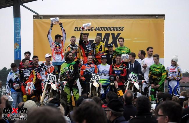 Vingt titres mondiaux au départ de l'épreuve E-MX à Zolder !
