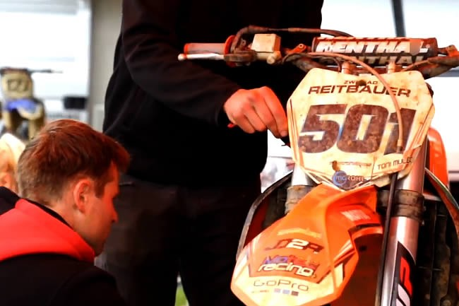 Vidéo: des images du championnat autrichien de motocross