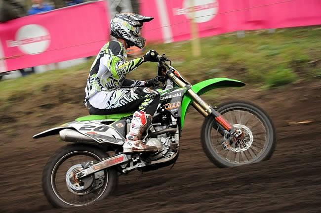 Yentel Martens victorieux chez les Inters MX2 à Mons