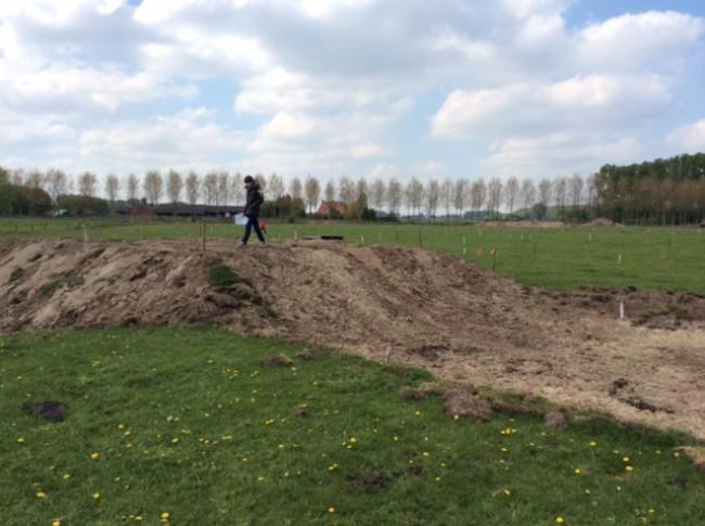 Photos: le circuit de Moerbeke-Waas en cours de préparation