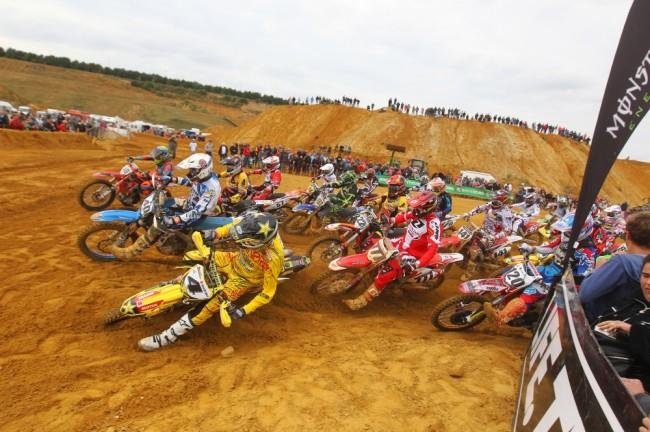 Mons: du beau monde derrière la grille de départ des Belgian Masters of Motocross !