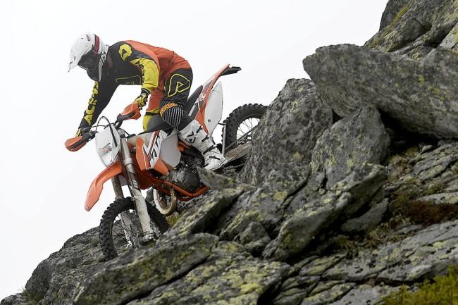 Testez les KTM enduro 2015 !