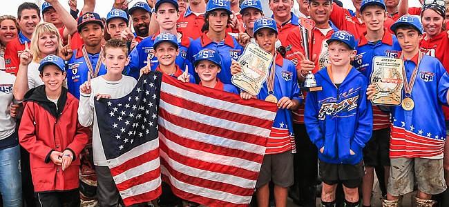 Les USA remportent le Mondial Junior à Lierneux