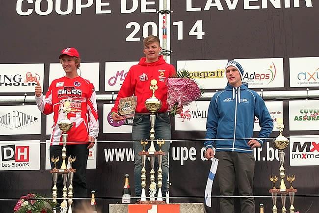 Coupe de l'Avenir: Brent Van Doninck en surclassement