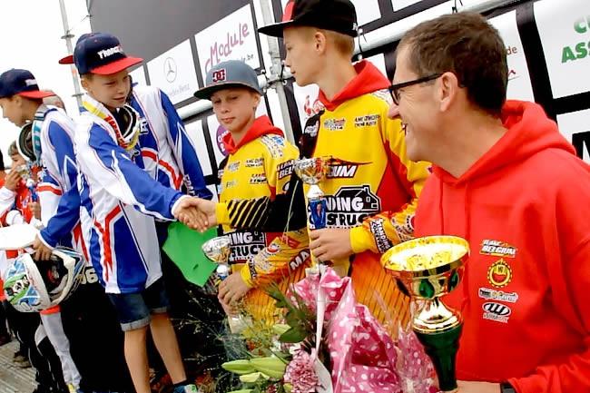 Coupe de l'Avenir: podium belge en 85cc, première réussie en 65cc