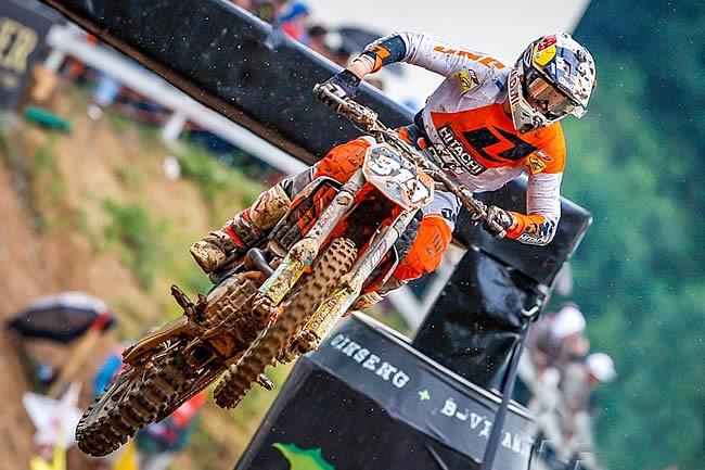 Ben Watson en MX2 avec Hitachi/KTM