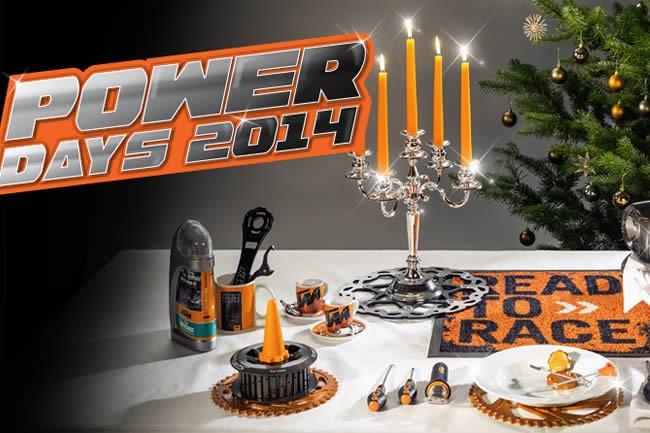 KTM Powerdays: votre bon cadeau de 50€ vous attend !