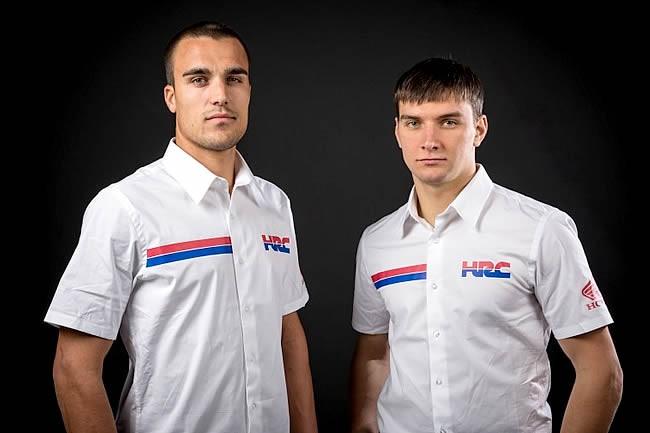 Paulin et Bobryshev confirmés chez Honda HRC