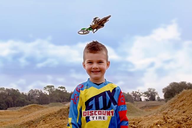 Vidéo: Chad Reed, Josh Grant et leurs enfants