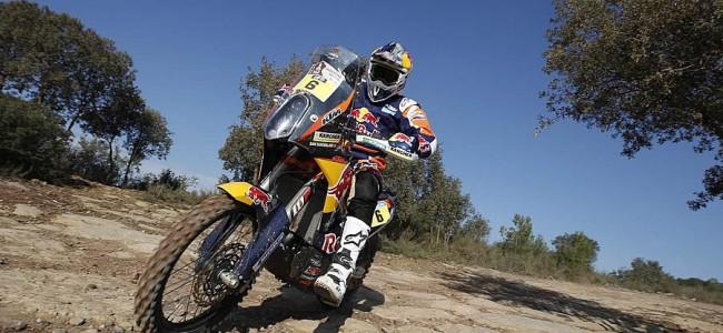 Le team KTM prêt à se lancer dans le Dakar 2015