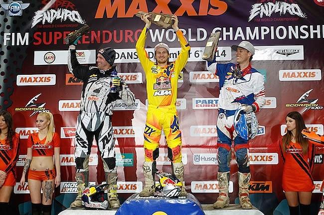 Taddy Blazusiak domine l'ouverture du championnat Superenduro