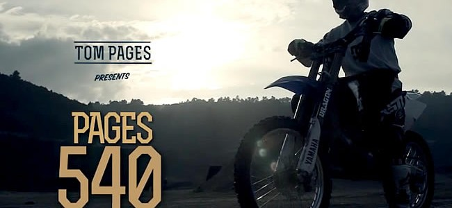 Vidéo: Tom Pagès présente le Pagès 540