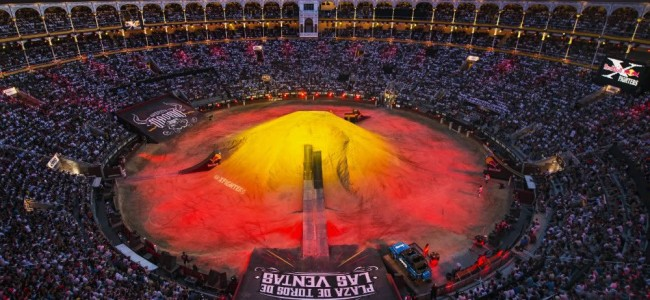 Les Red Bull X-Fighters débarquent à Madrid