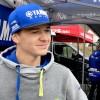 Maxime Lurkin, double vainqueur chez les Juniors 500 à Mons, au micro d'Yves Utens