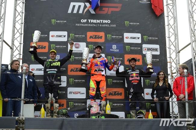 Arco di Trento – Les réactions du podium MXGP