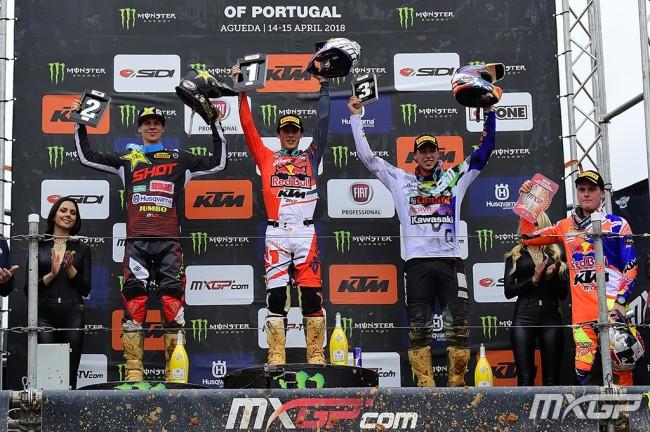GP du Portugal – Les réactions du podium MX2
