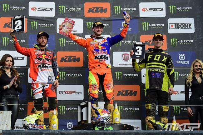 GP du Portugal – Les réactions du podium MXGP