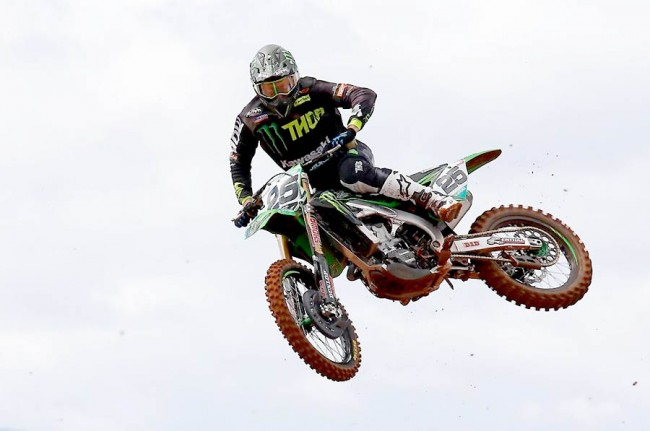 Clément Desalle survole le 40ème motocross de Mons !