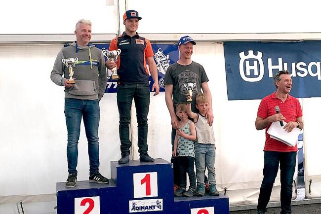 Antoine Magain remporte l'ouverture du championnat de Belgique d'enduro à Mettet
