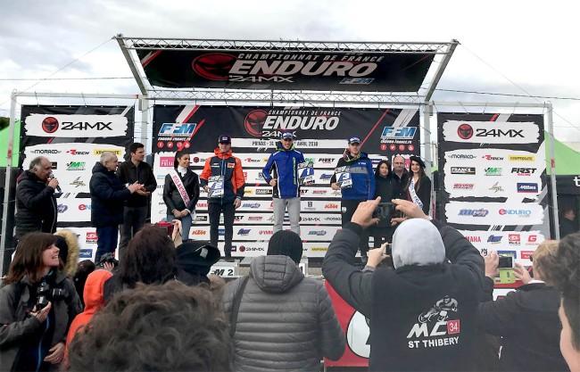 Antoine Magain brille sur l'ouverture du championnat de France d'enduro