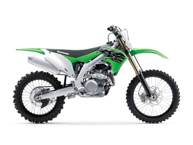 Kawasaki dévoile sa KX-F 450 2019