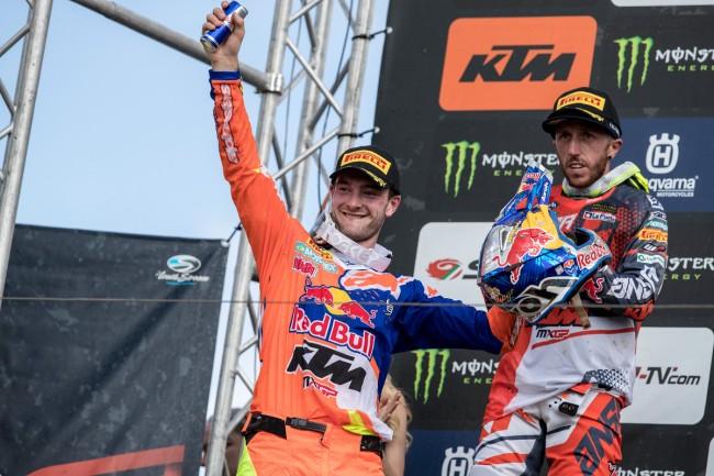 GP de France – Les réactions du podium MXGP