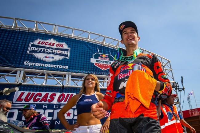 MX US : Musquin et Tomac se partagent les victoires à High Point