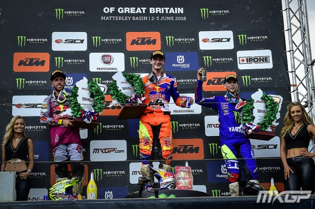 GP de Grande-Bretagne – Les réactions du podium MXGP