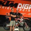 James Scott signe chez KTM Diga Junior Racing
