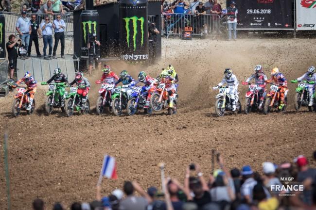 Pas de compétition moto en France avant le mois d'août