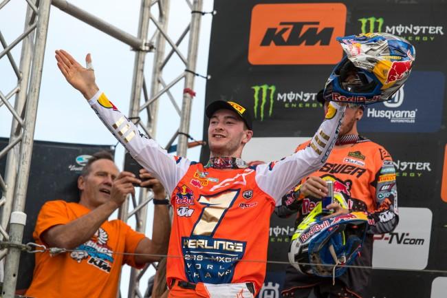 GP des Pays-Bas – Les réactions du podium MXGP