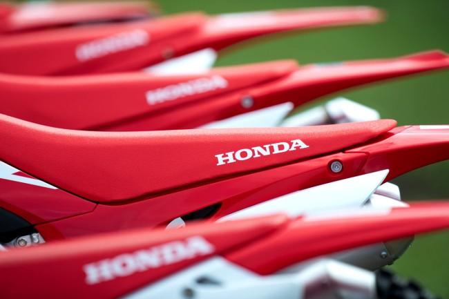 Honda annonce les prix de sa gamme cross 2019