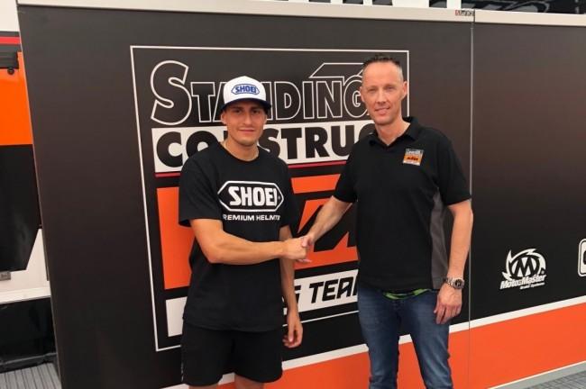 Standing Construct KTM signe Ivo Monticelli