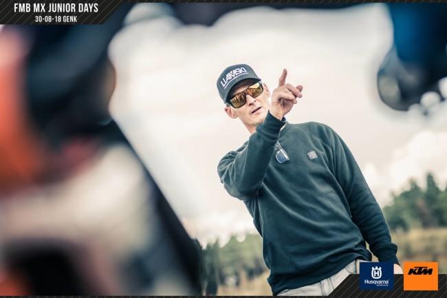 Photos : Stefan Everts et Ken De Dycker conseillent les champions en herbe à Genk