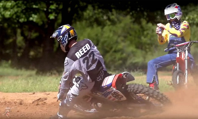 Vidéo : Chad Reed au guidon de la Honda CR250 de Ronnie Mac