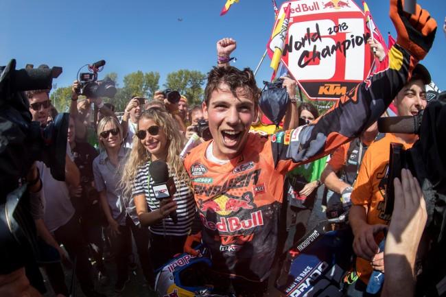 GP d'Italie – Les réactions du podium MX2
