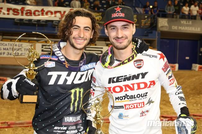 Ferrandis et Escoffier remportent le Supercross de Marseille