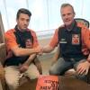 Tom Vialle aux côtés de Jorge Prado chez KTM !