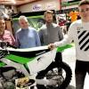 Tim Louis avec GEPA Kawasaki et le Pablo MXteam