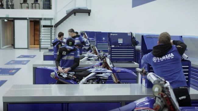 Vidéo :  le team Wilvo Yamaha MXGP prépare 2019