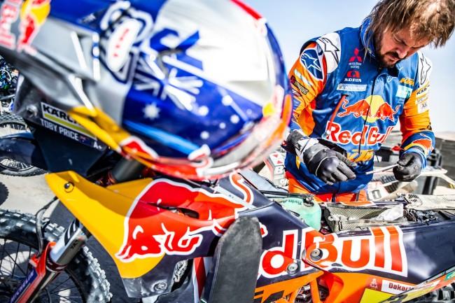 Toby Price installe sa KTM en tête du Dakar