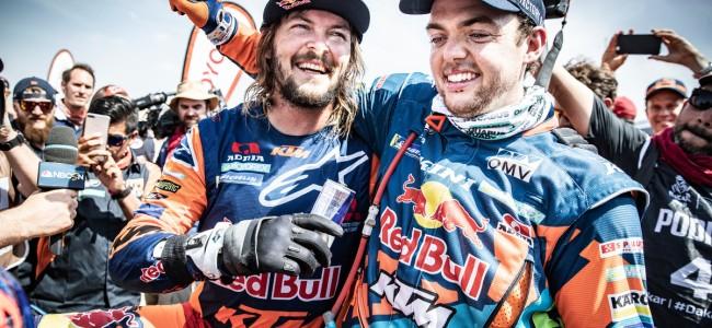 Dakar : Price et Walkner offrent le doublé à KTM