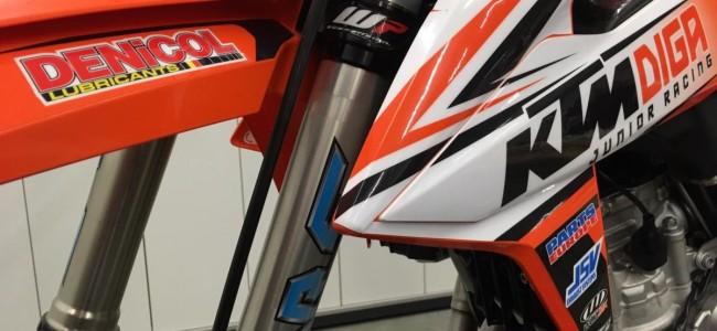 Clap de fin pour le team KTM Diga Junior Racing