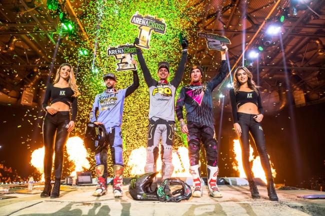 Cédric Soubeyras remporte le titre Arenacross en Grande-Bretagne