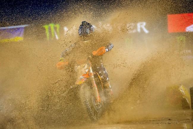 Replay vidéo : le 5ème round SX US dans la boue de San Diego