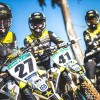 Photos : les nouvelles couleurs du team Monster Energy Husqvarna Factory