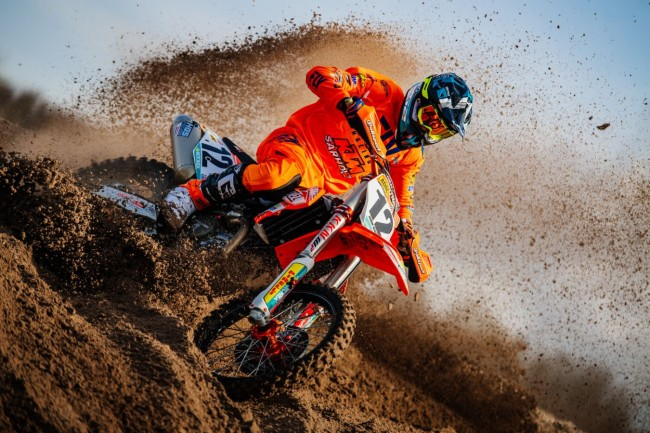 Photos : Max Nagl au guidon de la KTM du team Sarholz