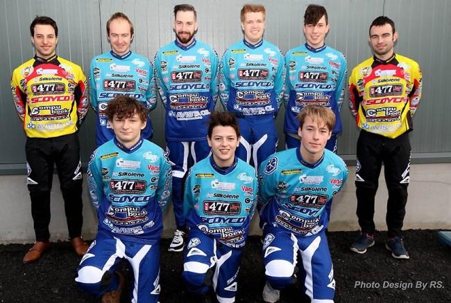 Le team MC Mikkola prêt pour l'ouverture de la saison FMB à Lommel