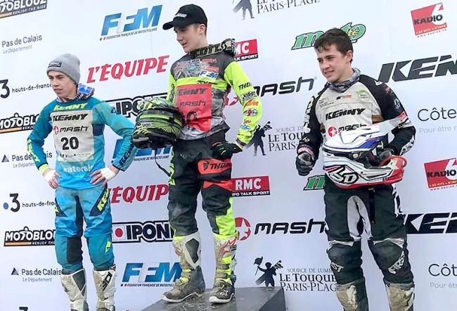 Mattéo Puffet à la deuxième place de l'Enduropale Junior !