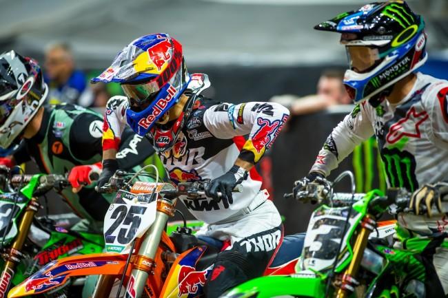 Vidéo Supercross Atlanta : les finales en images